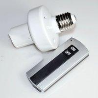 support de lampe sans fil achat en gros de-Support de lampe sans fil E27 AC220V 50Hz Télécommande intelligente Commutateur à vis à télécommande intelligente