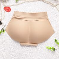 gepolsterte hüften für frauen groihandel-Taille Trainer Kolben-Heber-Schlüpfer-Frauen-Unterwäsche derhosen Fake Ass Booty Padded Panty Ass Enhancer Up Hüften