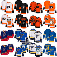 Wholesale tarasenko black ice jersey resale online - St Louis Blues Jersey Ryan O Reilly Binnington Tarasenko Philadelphia Flyers Jersey Claude Giroux Carter Hart Kevin Hayes hockey jerseys