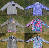 jersey de punto suave al por mayor-3 color Sherpa Pullover Mujeres Invierno Suéteres de doble color de Punto Suave Fleece Jersey Suéter Outwear Escudo LJJK1144