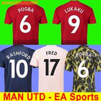 8dbfddaac1af0 Wholesale man utd online - TOP Thailand FC POGBA soccer jersey LINGARD  LUKAKU RASHFORD MARTIAL football