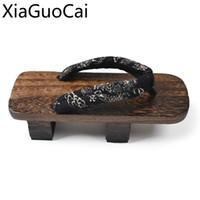 ingrosso flip flop blocca gli uomini-Infradito in stile giapponese da uomo, scarpe con sandalo, fiore, due denti, gentiluomo, pantofola in legno, scarpe da ginnastica per uomo, flip-flop