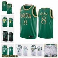 baloncesto boston al por mayor-BostónCeltics Kemba 8 Walker Jayson 0 Tatum 2020 Has conseguido AsociaciónNBAicono de la ciudadEdición de baloncesto Jersey 2019 NUEVO