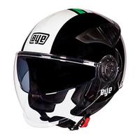 Wholesale dual lens half face helmet resale online - Motorcycle helmet open face half moto racing capacete para motocicleta vintage Motorbike helmets with dual lens Visors