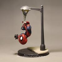 ingrosso mini bambola dell'uomo-Marvel Avengers 14 centimetri Spider Man prende la foto Action Figure Modello Anime mini bambola Decorazione Collection Figurine giocattolo modello