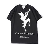 aaa camisetas venda por atacado-Mens Designer T Camisas Moda Mens Vestuário 2019 New Arrival Casual Streetwear T Shirt Da Marca Dos Homens do Mensageiro Tops de Manga Curta