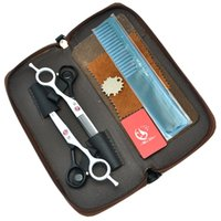 salon qualität haarschneiden kit großhandel-Meisha 5,5 Zoll Hohe Qualität Barbers Salon Hair Scissors Japan 440C Hairdressing Schneidescheren Ausdünnung Tijeras Hair Razors HA0055