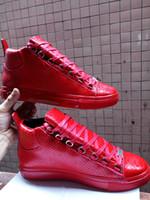 precio de los zapatos rojos al por mayor-Snakeskin Red Bottom Sneakers Luxury Designer High Top Skate Sneakers para mujer para hombre zapatos casuales a estrenar confort precio al por mayor 39-46