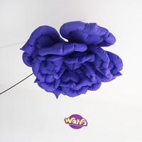 ingrosso grandi palloncini pubblicitari-Il più nuovo design per la decorazione di eventi all'aperto / appendere il fiore gonfiabile per la decorazione esterna di Natale