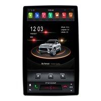 vw jetta bluetooth radyo toptan satış-12.8 inç Dönebilen Octa Çekirdek Android 9.0 DSP evrensel 2 din araba DVD oynatıcı Radyo