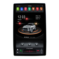 Wholesale dash mp3 player resale online - 12 inch Rotatable PX6 Core G Android DSP universal din Car DVD Radio player