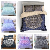Wholesale bohemian comforter bedding set for sale - Group buy 3Pcs Bohemian Ethnic Style Bedding Set x218cm x229cm X228cm X229cm X239cm Quilt Cover Comforter Bedding Sets