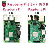 neue himbeere großhandel-Neue Original Raspberry Pi 3 Modell B + Board Raspberry Pi 3 B Plus Pi 3 Pi 3B 3B + Mit WiFi Bluetooth USB