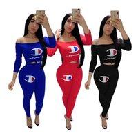 kadın takımları toptan satış-Kadın Şampiyonlar Mektup Kolsuz T Gömlek Yelek Üst Şort Pantolon Yaz Eşofman Kıyafetleri 2 Parça Set Spor Spor Giyim 002