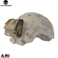accesorios de casco rapido al por mayor-EMERSON Bolsa de casco Bolsa de engranajes extraíble Tactical FAST Accesorios de casco Bolsa de utilidad Emersongear Bolsa de casco Bolsas