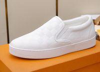 ingrosso scarpe da passeggio impermeabile in pelle-Mocassini in pelle moda uomo caldo mocassino-gommino PVC piatto casual passeggio impermeabile in pelle Genunie slip on scarpe vestito EU38-45