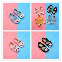 Wholesale blue sandals baby girl for sale - Group buy Kids Girls Sandals Cartoon Owl Jelly Princess Shoes Summer Children Cute Beach Shoes Baby Anti slip Wearproof Sandals Shoes Free DHL E31002
