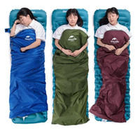 Wholesale outdoor adult sleeping bags for sale - Group buy Folding sleeping bag Outdoor Portable Envelope Sleeping Bags Travel Bag Hiking Camping Equipment Outdoor tent blanket YSY271