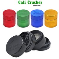 Wholesale cali crusher resale online - Cali Crusher Homegrown Piece Grinder Aluminum Alloy Smoking Herb Grinders MM Metal Tobacco Herbal Hand Muller Smoking Pipes Accessories