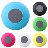 Wholesale waterproof speakers for iphone resale online - 2019 Mini Portable Subwoofer Shower Waterproof Wireless Bluetooth Speaker Car Handsfree Receive Call Music Suction Mic For iPhone Samsung