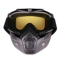 Wholesale mask wind protection for sale - Group buy NEW HOT SALES Outdoor Unisex Motorbike Anti impact and Anti wind Eye Protection Goggles Mask Helmet Cycling Accessories