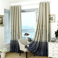 Wholesale vertical blinds resale online - Window Treatment Castle Modern Blinds Silver Stamping Heavy Thick Blackout Living Room Bedroom Insulation Curtain Home Decor