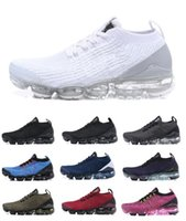 chaussures triangles achat en gros de-Run Utility Mens chaussures de course 2019 hommes Casual Air Cushion Triangle Triple Noir formateurs Femmes Randonnée En Plein Air Jogging Sport Baskets 36-45