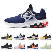 kadın balerin satışı toptan satış-Nike React Presto Sıcak Satış nefes Koşu Ayakkabıları Psychedelic Lava Breezy Presto Reaksiyon Perşembe Acımasız Bal Rabid Kadın Erkek Eğitmen Spor Sneakers