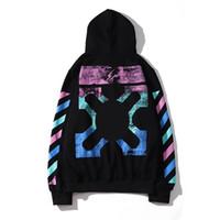 Wholesale arrow hoodie online – oversize 19 new men hoodies trend fashion speedband hoodie luxury arrow print sweater street brand hip hop pullover couple quality wild sweatshirt
