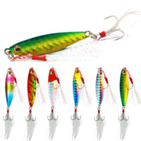 Wholesale fishing baits cast resale online - Metal Cast Jig Spoon Fishing Lures g g g g Shore Casting Jigging Lead Fish Sea Bass Fishing Lure Artificial Bait Tackle
