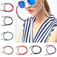 Wholesale spectacle sunglasses for sale - Group buy 6mm Wide Pc Cotton Eyewear Spectacle Sunglasses Neck String Cord Glasses Chain Strap Retro Anti Slip Eyeglasses Cord