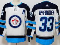 ingrosso maglia nhl jersey xl-26 Blake Wheeler Men Winnipeg Jets Jersey 29 Patrik Laine 33 Dustin Byfuglien 37 Connor Hellebuyck 55 Mark Scheifele Mens NHL Hockey Jerseys
