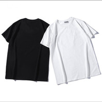 hasenbrille großhandel-2019DI.OR 100% Baumwolle Brief gedruckt Männer atmungsaktiv T-Shirt lässig Männer T-Shirt Oansatz Frauen Tops T-Shirts