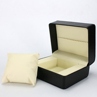 Wholesale flannel bracelet for sale - Group buy Explosion model supply pu leather watch box watch display box high end jewelry bracelet flannel jewelry packaging