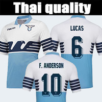 51bff456446 2019 Lazio Home Blue Soccer Jersey 18 19 Lazio Soccer Shirts #17 IMMOBILE  #21 SERGEJ #19 LULIC #10 LUIS ALBERTO Football Shirt On Sales