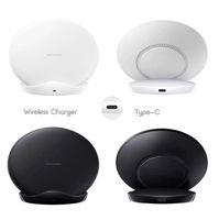 зарядное устройство для док-станции оптовых-10Вт S9 телефон Smart Wireless Charger база для iPhone Samsung тока Защита Беспроводное зарядное устройство Стенд Автоматическая Тепловыделение 130