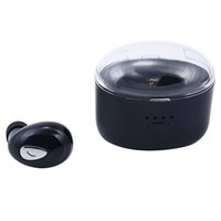 микро невидимый bluetooth оптовых-Беспроводная Bluetooth-гарнитура True True с зарядкой