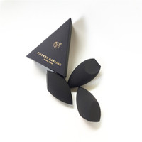 CHERRY DARLING 3D Definer Beauty Makeup Blending Sponge - Black - Soft Cosmetic Applicator for Cream Liquid Foundation & Powders