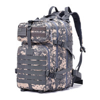 Wholesale outdoor backpack 3p bag resale online - 40L Waterproof Climbing Hiking Tactical Backpack D Bag Camping Mountaineering Outdoor Sport P Bag