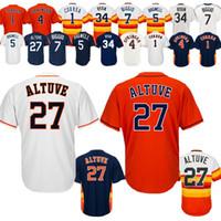 06fa84a7e74 Wholesale cheap nolan ryan jersey online - 2019 Baseball Jerseys Houston  Astros Jose Altuve George Springer