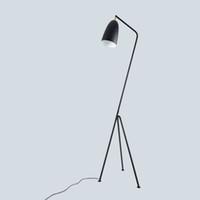 ingrosso soppalco per lampade industriali-JESS Lampada da terra industriale minimalista moderna Lampade da terra per soggiorno Lampada da lettura Lampada da terra a triangolo triangolare in ferro LED e27