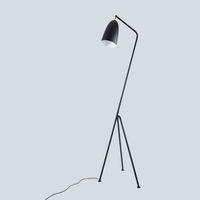 soporte de triángulo al por mayor-Lámpara de pie industrial minimalista moderna de JESS Lámparas de pie para sala de estar Iluminación de lectura Loft Lámpara de pie Triángulo de hierro LED e27