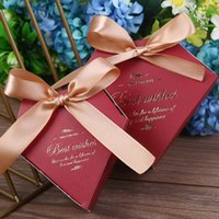 Wholesale white paper hearts for sale - Group buy 50pcs Romantic wedding luxury paper candy box baby shower birthday party decoration white pink marble gift boxes heart shape