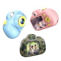 cmos fotografie großhandel-Kinder Mini Kamera Spielzeug Digitalkamera Kamera Spielzeug Pädagogische Fotografie Geschenke Kleinkind Spielzeug 8MP HD-Kamera für Kinder heißer Verkauf