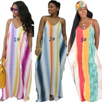 tek parça zemin elbiseleri toptan satış-Kadın tasarımcı maxidress tasarımcı kat uzunlukta tek parça elbise yüksek kalite gevşek etek zarif lüks clubwear klw1264