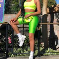 Wholesale exercise tight short resale online - Women Short Leggings Biker Shorts Dance Workout Yoga Pants Shinning Tight Slim Black Nylon Training Running Exercise Shorts New