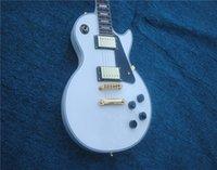 yeni gitar çini toptan satış-Ücretsiz Kargo Yeni Stil özel mağazalar 1958 Alp beyaz abanoz elektro gitar Çin Gitar