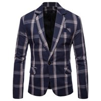 мужские пиджаки оптовых-New Arrival  Clothing Jacket Spring Suit Jacket Men's Blazer Fashion Slim Male Suits Casual Blazers Men Outfits