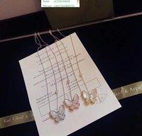 Wholesale titanium pendants for couples resale online - Couple Necklace Fashion Letter Pendant k Titanium Steel Plated Women For Birthday Gift
