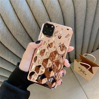 iphone argenté achat en gros de-3D rêve Shell plaqué argent feuille d'or Phone pour iPhone XS 11 Pro Max XR X 6 6S 7 8 Plus Glitter silicone souple Couverture arrière